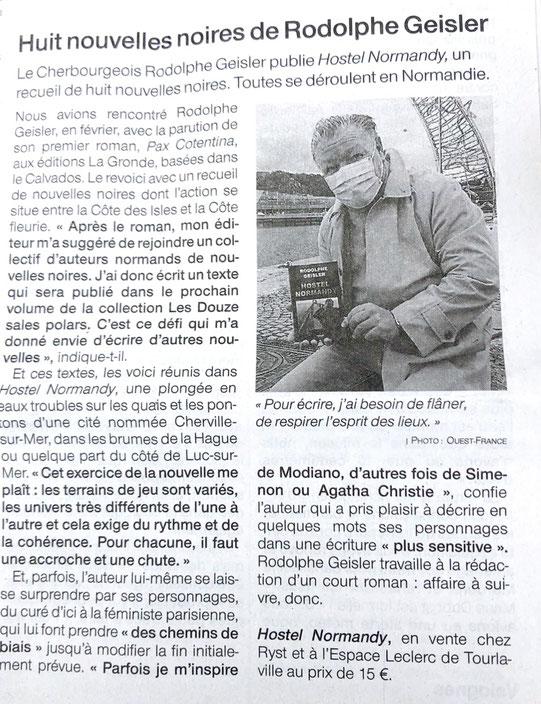 Ouest-France (Manche) du 9 décembre 2020