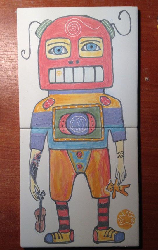 Robot Tile, 15x30 cm, price 30 euro.