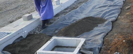 ~道路を造ろう~【森戸新田工区の場合】排水トレンチ設置6