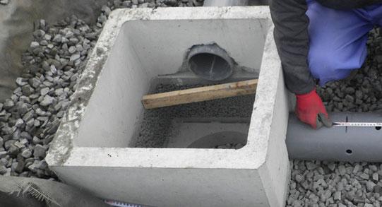 ~道路を造ろう~【森戸新田工区の場合】排水トレンチ設置2
