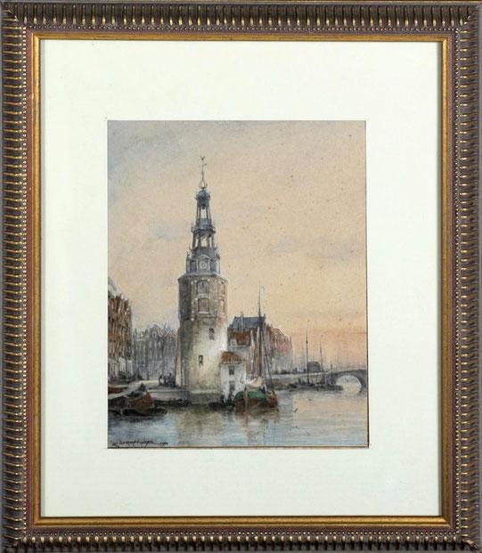 te_koop_aangeboden_een_aquarel_van_de_kunstschilder_cornelis_christiaan_dommelshuizen_1842-1928