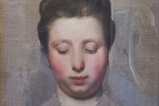 Alla Prima Porträtmalerei Palazzo Pitti Aufnahme Andreas Fischbacher