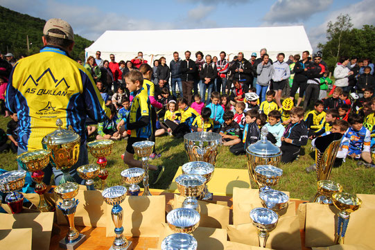 Classements de la Mini Carach Bike 2016 - AS Quillan