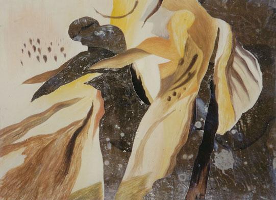 """""""Schatten und Spiegelbild"""", 1989, 17 x 24 cm"""