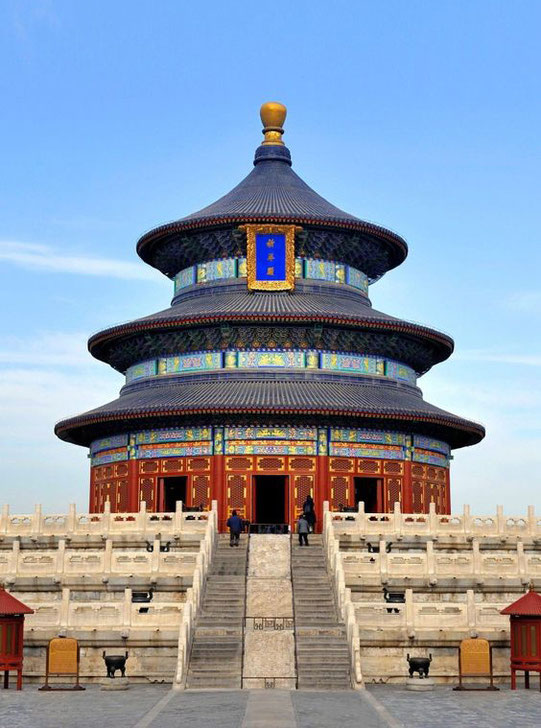 The Temple of Heaven, Peking ( Beijing )