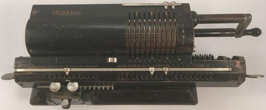 ORIGINAL ODHNER modelo 11, s/n 112249, capacidad 10x11x13, año 1936, 45x15x12 cm