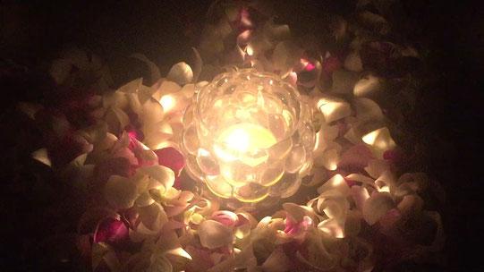 瞑想のためのキャンドルとして製作したMeditation Candle ~奥駈~