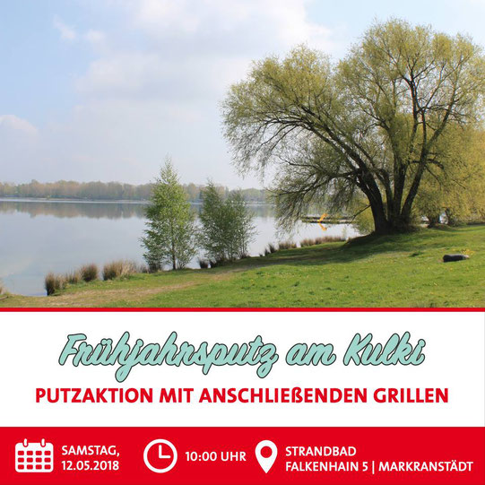 Frühjahrsputz Kulkwitzer See