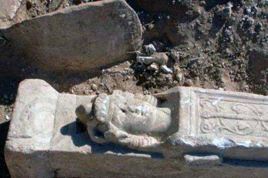 Le buste d'Alexandre le Grand retrouvé dans le sud de Chypre