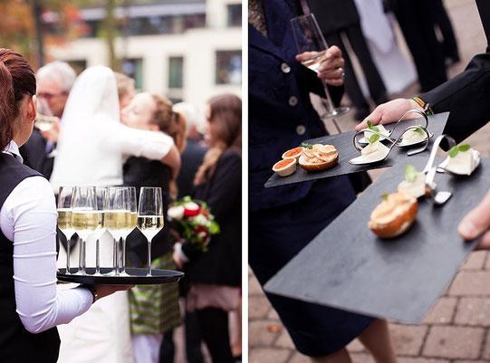 Catering für Trauung und Hochzeit, Trauzeremonie