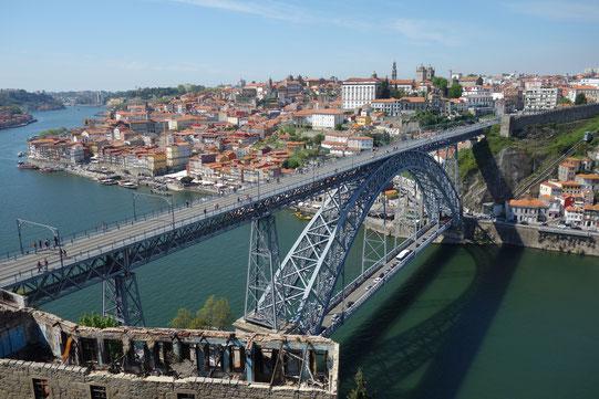 Portugal, Porto, Ponte de Dom Luis I