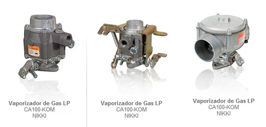 vaporizador vaporizadores gas lp partes refacciones accesorios montacargas mexico