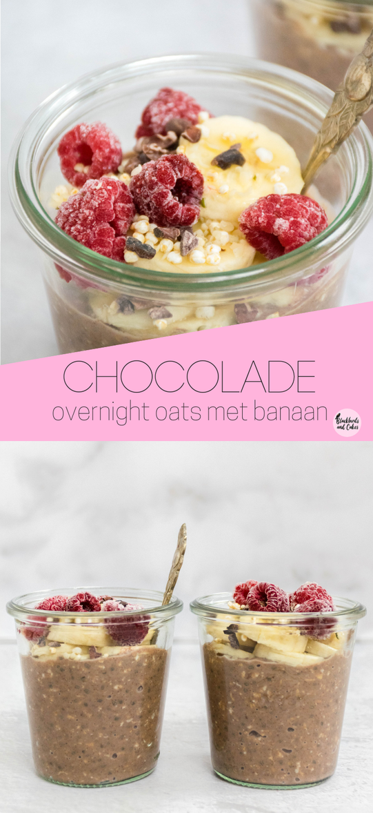 chocolade overnight oats