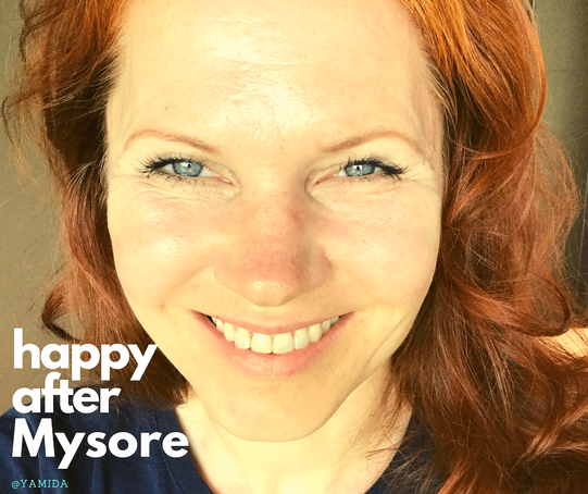 Yvonne Beerenbrock - happy after Mysore @ Yamida- Yoga & Meditation in Lüdinghausen