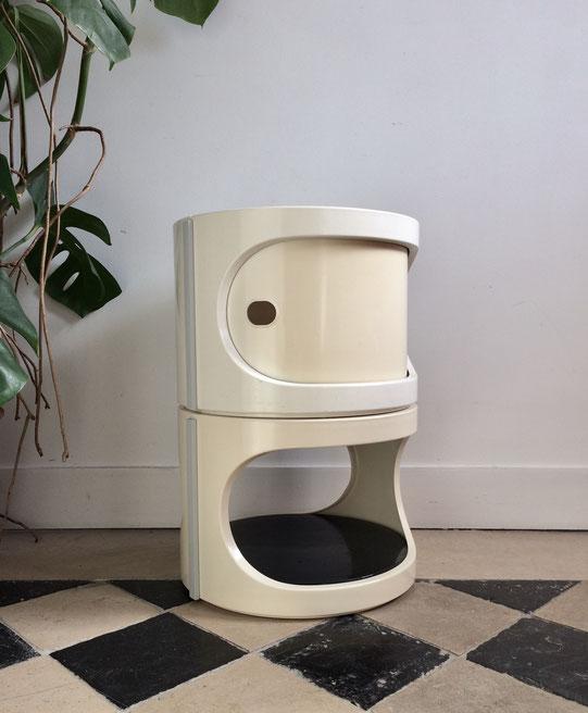 Marc Held, Prisunic, table vintage, table plastique