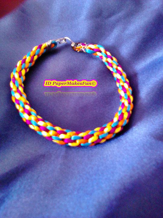Kumihimo - Bracelet - multicolor