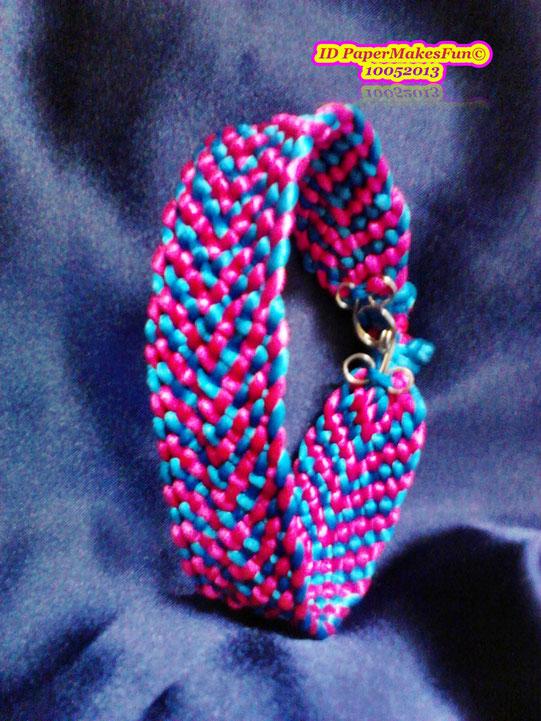 Kumihimo - flat Bracelet