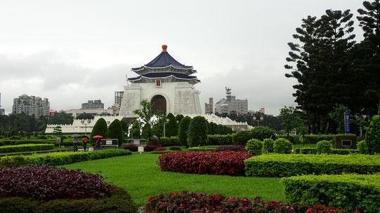 Chiang-Kai-Sehk Memorihall, Memorihall, Chiang-Kai Sehk Memorihall, Taipeh, Tapei, Taiwan, Großstadt, Asien, Südostasien