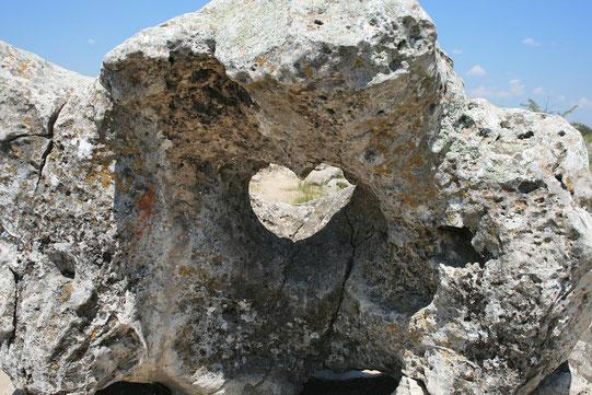 Ob kleine oder große Steine, jeder einzelne erinnert an eine Lektion