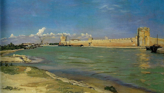 F. Bazille, Aigus-Mortes, 1867