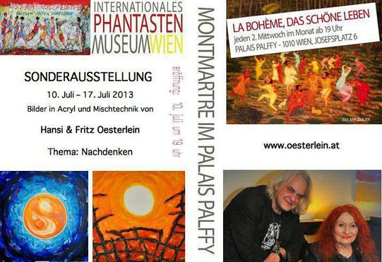 Hansi und Fritz Oesterlein Ausstellung im Palais Palffy