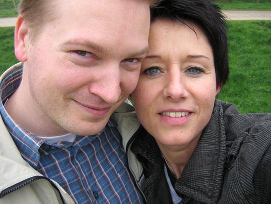 Unser erster Ausflug als Paar führte uns nach Zons, wunderschön!