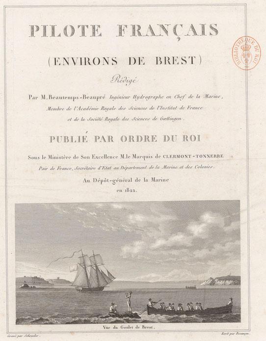Page de titre du premier Tome de 1826