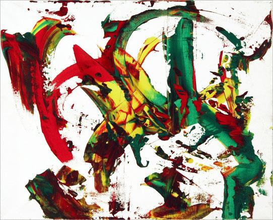 Barito 0285, 2014, 40 x 50 cm, Acryl auf Leinwand