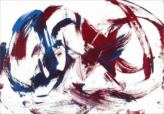 Barito 0294, 2014, 70 x 100 cm, Acyl auf Leinwand