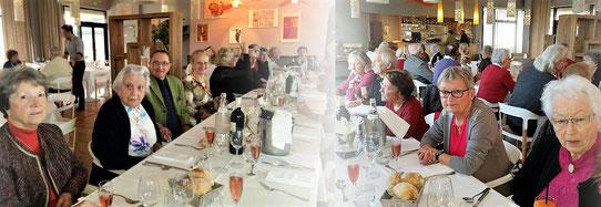 Repas de fin d'année au restaurant 123 à Lagord