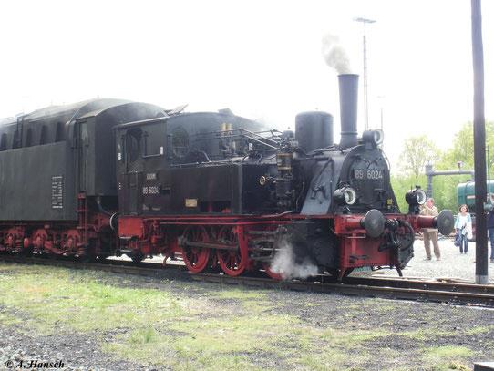 Anlass dazu waren die traditionellen Pfingstdampftage des Deutschen Dampflokmuseums