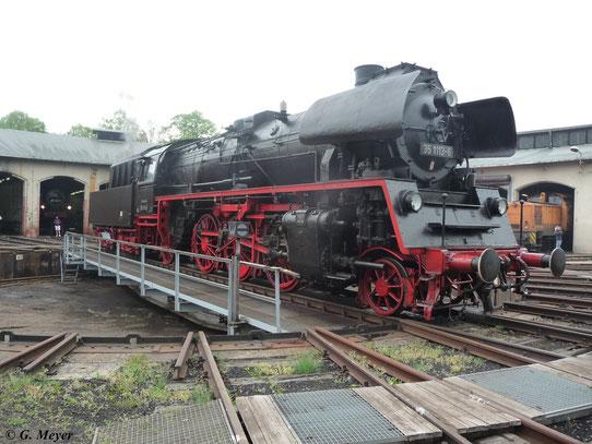 Sie ist die letzte gebaute Lok ihrer Baureihe