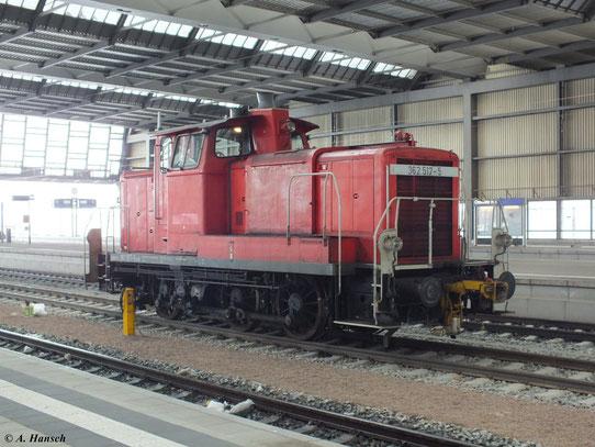 Am 28. Oktober 2012 steht 362 517-5 in Chemnitz Hbf.