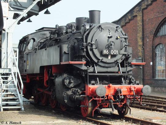 Anlass war das 11. Feldbahn- und Alttraktorentreffen des SEM Chemnitz