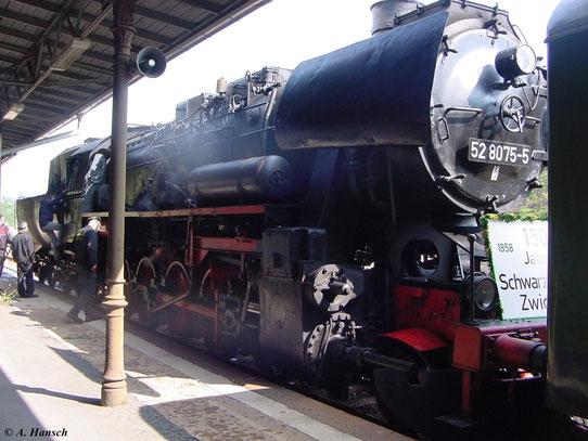 Mit den Fahrten wurde das 150 jährige Streckenjubiläum gefeiert
