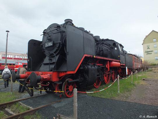 Insgesamt 4 Baureihe 24 sind noch erhalten geblieben, 3 davon befinden sich in Deutschland, eine in Polen