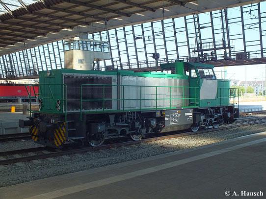 Diese Mak G 1206 stand am 17. August 2013 in Chemnitz Hbf.
