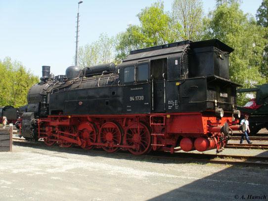 Die Lok war zuletzt bei der Deutschen Bundesbahn im Einsatz