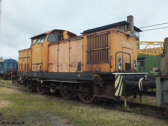 Eine neue Lackierung und ein paar schicke Loknummernschilder könnte 106 658-8 gut brauchen...