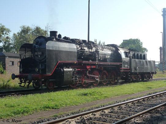 Am 24. September 2011 ist 50 3501 im Bw Luth. Wittenberg zu Gast.Sie ist die erste rekonstruierte Baureihe 50...