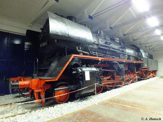 Im Fahrzeugmuseum Prora auf Rügen steht 50 3703-1, der ich am 6. August 2012 einen Besuch abstattete