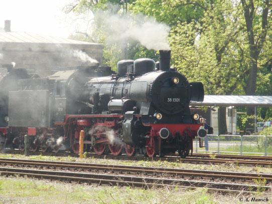 38 1301 der ÖGEG war am 22. Mai 2010 in Neuenmarkt-Wirsberg zu Gast