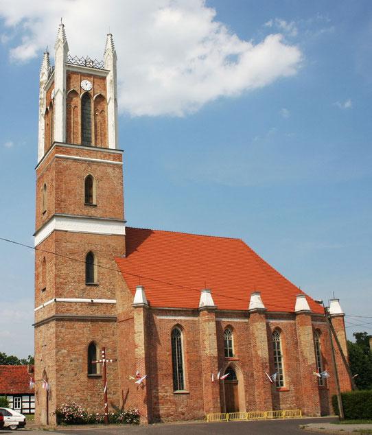 Kirche in Sonnenburg/Slonsk