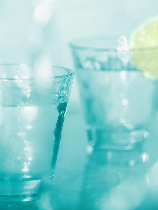 Wasser ist Leben, Wasser trinken ist überleben - nicht nur beim Fasten. Wasser ist Genuss.