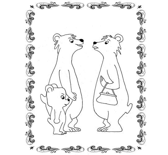 Ausmalbild Für Kinder Ulli Verlag