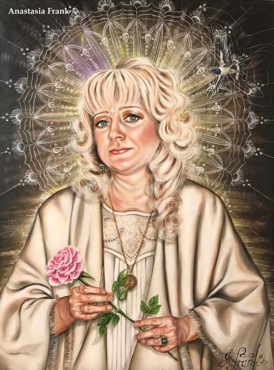Mama/Portrait,  120 x 90 cm, oil on canvas (2013), Anastasia Frank