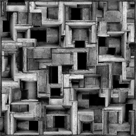 Jim Kazanjian photomontage surrealism black and white affordable module