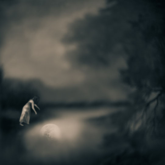 Tami Bone, Moon River, Mythos series, 2013 photography  ghost childhood