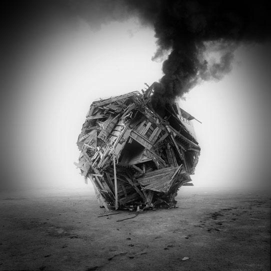 Jim Kazanjian photomontage surrealism black and white affordable object