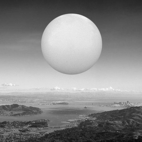 Jim Kazanjian photomontage surrealism black and white affordable bubble